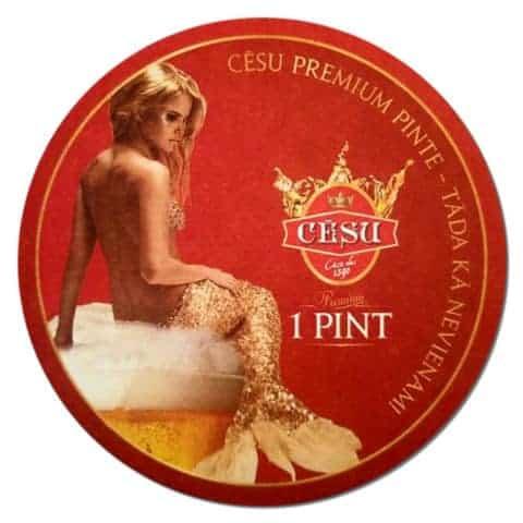 Cesu Premium Beer Mat