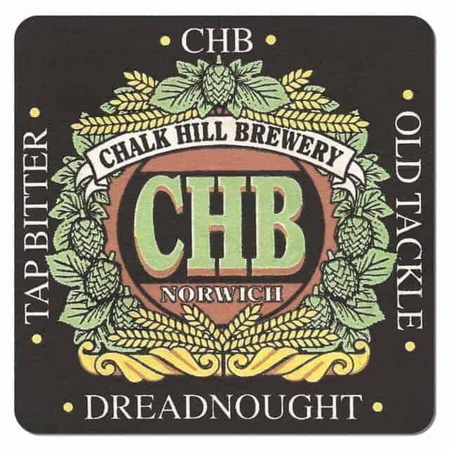 Chalk Hill Brewery Beer Mat