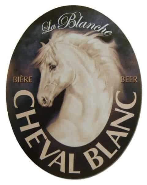 Cheval Blanc Beer Mat Front