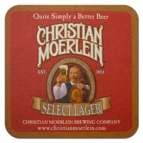 Christian Moerlein Beer Mat