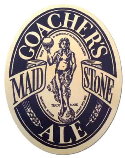 Coachers Maidstone Ale Beer Mat
