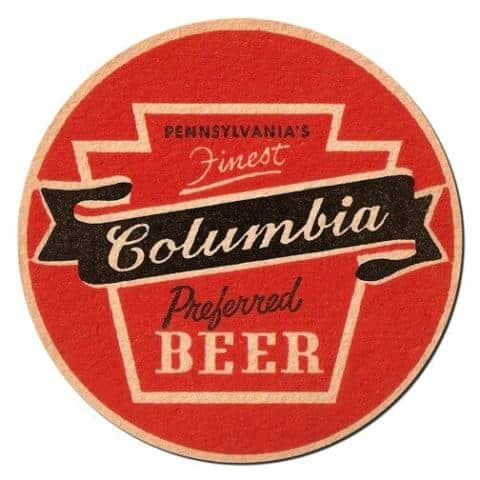 Columbia Beer Mat