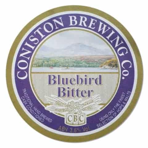 Coniston Brewery Beer Mat