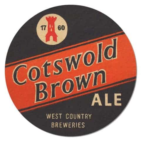 Cotswold Brown Ale Beer Mat