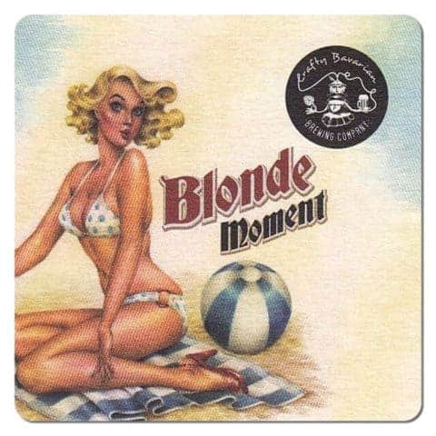 Crafty Bavarian Brewing - Blonde-Moment Beer Mat
