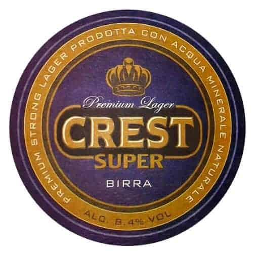 Crest Super Beer Mat