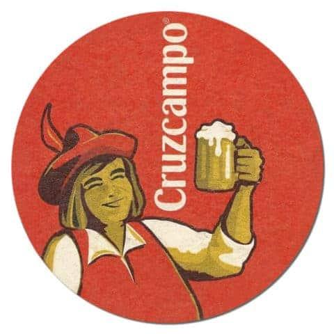 Cruzcampo Beer Mat