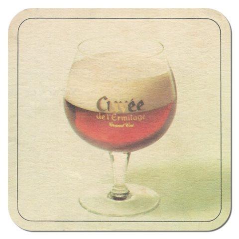 Cuvée de l'Ermitage Beer Mat