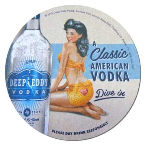 Deep Eddy Vodka Coaster