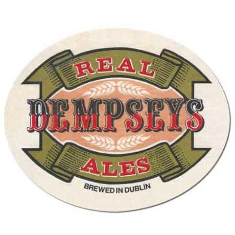 Dempseys Ales Beer Mat
