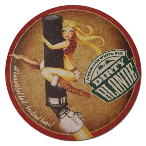 Dirty Blonde Beer Mat Front