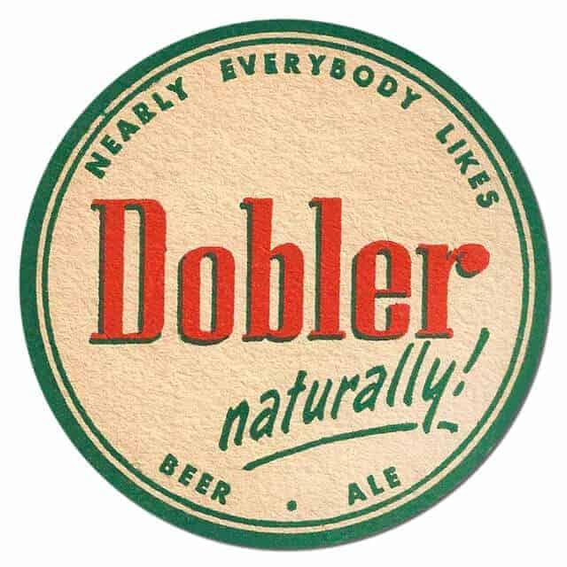 Dobler Beer Mat
