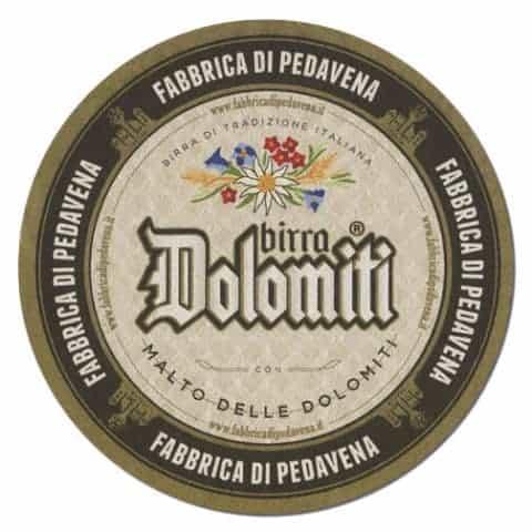 Birra Dolomiti Beer Mat