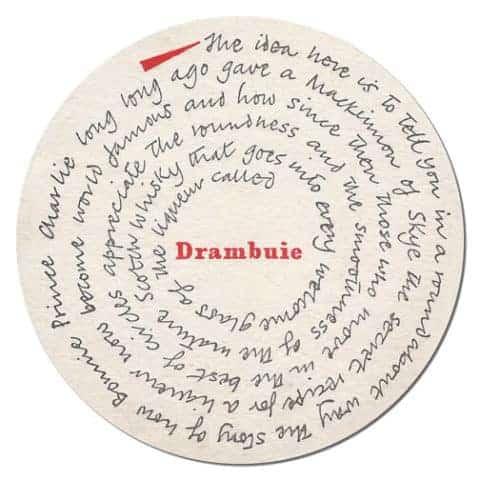 Drambuie Coaster