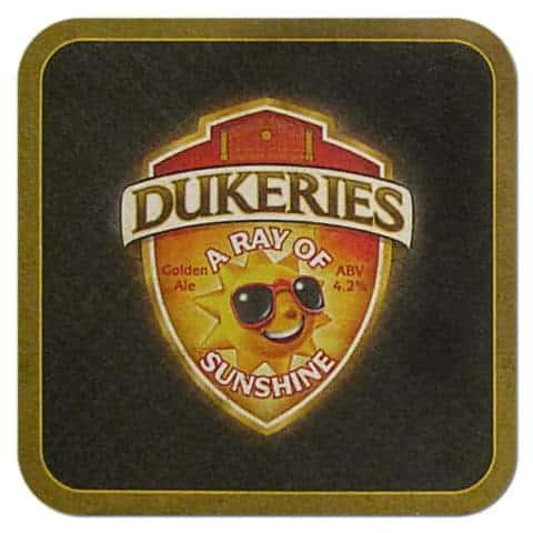 Dukeries Beer Mat