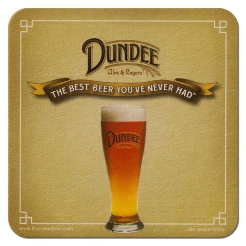 Dundee Ales Beer Mat