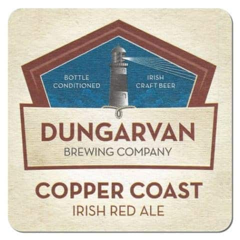 Dungarvan Brewing Company Beer Mat Front