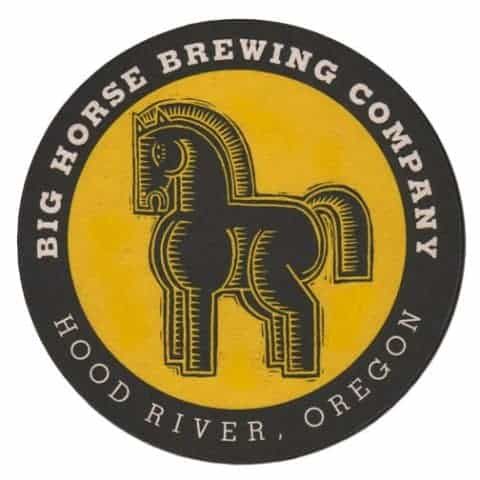 Big Horse Brewing - Easy Blond Beer Mat Back