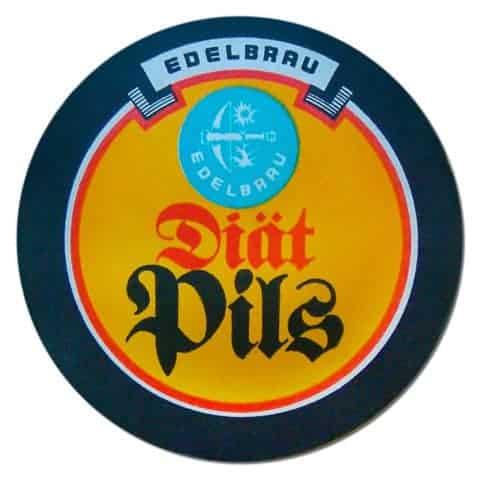 Edelbrau Diat Pils Beer Mat
