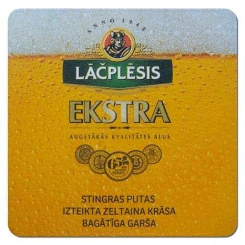 Lacplesis Ekstra Beer Mat