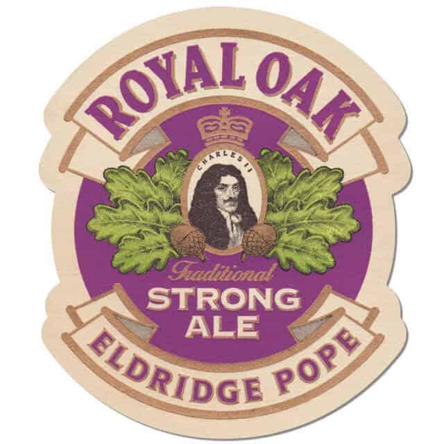 Eldridge Pope - Royal Oak Beer Mat