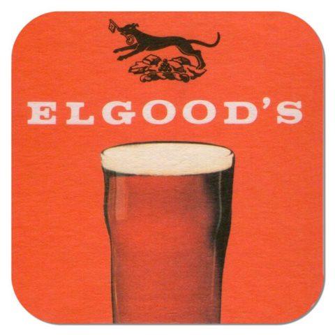 Elwood's Brewery Beer Mat
