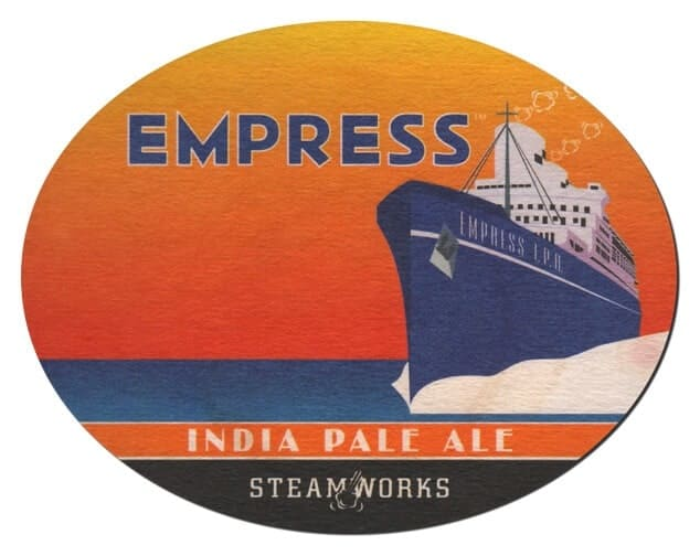 Empress Beer Mat Front