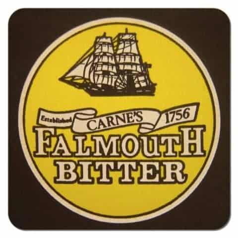 Falmouth Bitter Beer Mat
