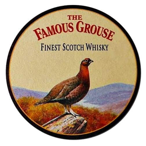 Famous Grouse Whisky Coaster