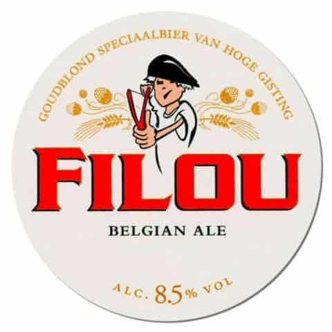 Filou Belgian Ale Beer Mat