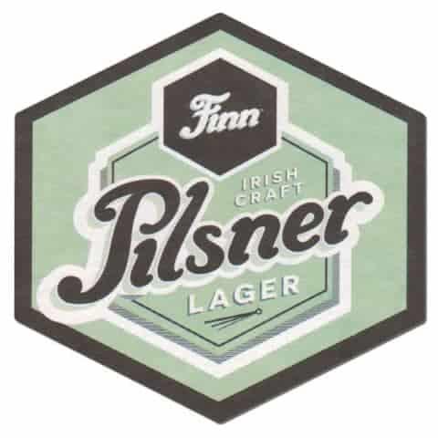Finn Irish Pilsner Lager Beer Mat