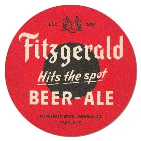 Fitzgerald Beer Drip Mat