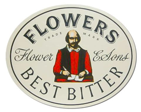 Flowers Best Bitter Beer Mat