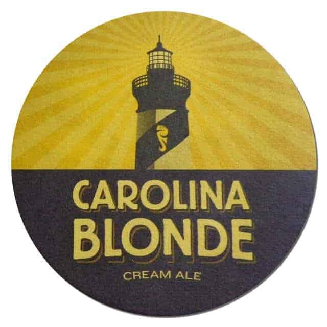 Foothills Brewing Carolina Blonde Coaster