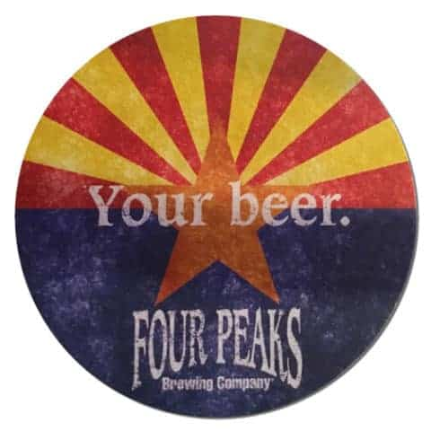 Four Peaks Brewing Beer Mat