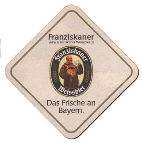 Franziskaner Beer Mat