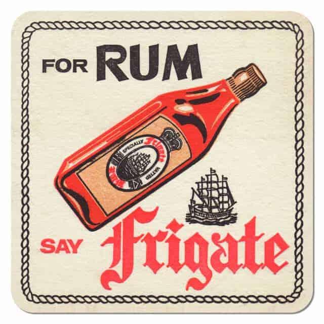 Frigate Rum Drip Mat