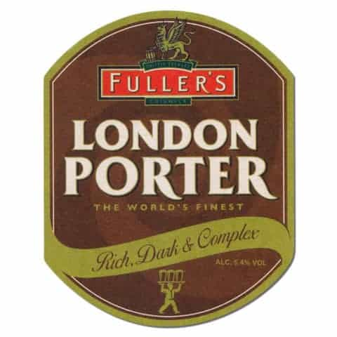 Fullers London Porter Beer Mat