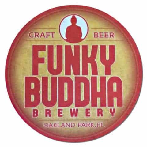 Funky Buddha Brewery Beer Mat