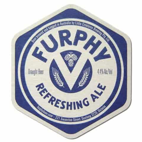 Furphy Beer Mat