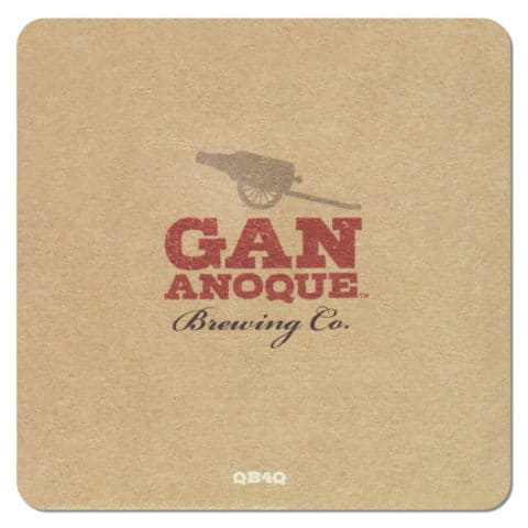 Gananoque Brewing Beer Mat