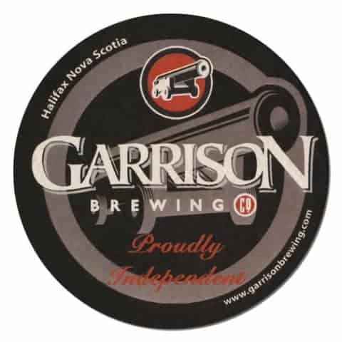Garrison Brewing Beer Mat Front