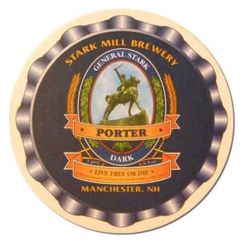 General Stark Porter Beer Mat