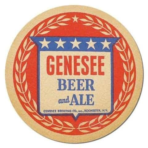 Genesee Beer Mat