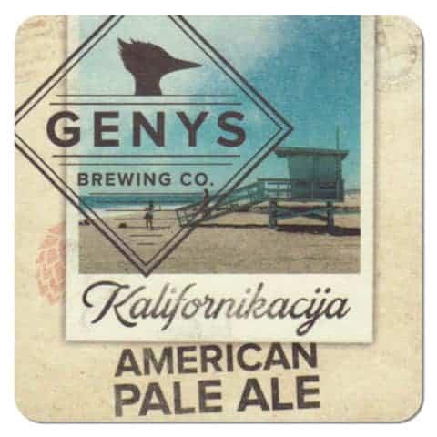 Genys Brewing Beer Mat