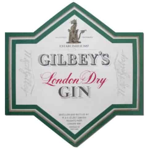 Gilbeys Gin Coaster