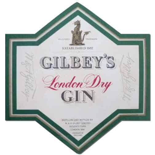 Gilbeys Gin Coaster