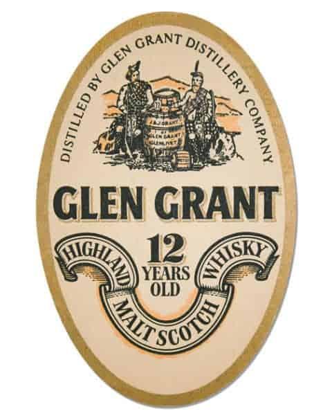 Glen Grant Scotch Whisky Coaster