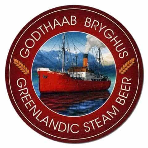 Godthabb Bryghus Beer Mat