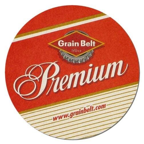 Grain Belt Premium Beer Mat